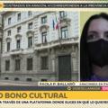 """PAOLA BALLARO'  VB INTERVISTATA  DA  ARAGON TV SUL """"BONUS CULTURA"""""""